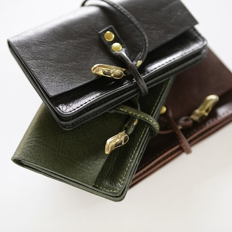 Brass Shoes Card Case