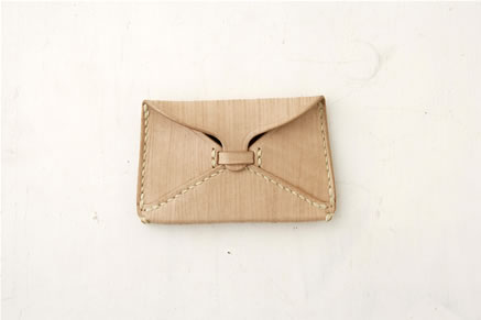 Antique Leather Card Case